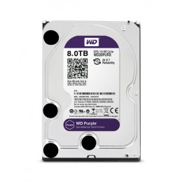 Western Digital WD Purple 8TB 128MBs 3.5 SATA HDD Surveillance CCTV Hard Drive