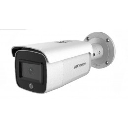 Hikvision DS-2CD2T26G1-4I/SL 2MP AcuSense Strobe Light Speaker DarkFighter Bullet Network Security Camera