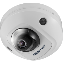 Hikvision DS-2CD2545FWD-IS 4MP DarkFighter Microphone SD-Card 10M IR POE Mini Dome Network IP Security Camera