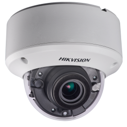 Hikvision DS-2CE59U8T-AVPIT3Z 4K UHD 8MP 2.8-12mm Motorized Ultra-Low Light 60M IR TVI CVBS Coax Dome CCTV Security Camera
