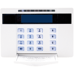 Pyronix By Hikvision EUR-064 LCD Contemporary Keypad with Proximity Reader, 2 inputs and 1 output