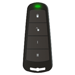 Pyronix By Hikvision KEYFOB-WE Two-way Wireless Alarm Key Fob