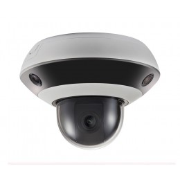 Hikvision DS-2PT3326IZ-DE3 PanoVu PTZ 360 Panorama Mini Dome Network IP Camera 2MP 2.8-12MM 4x Zoom POE H.265