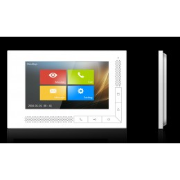 """GVS T-IS03 2-Wire Indoor Station 7"""" Touch Screen Monitor TFT LCD 24V"""
