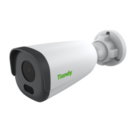 Tiandy TC-NCL514S 5MP Starlight H.265 50M IR Low Light WDR 120dB POE VCA Smart Bullet IP Camera
