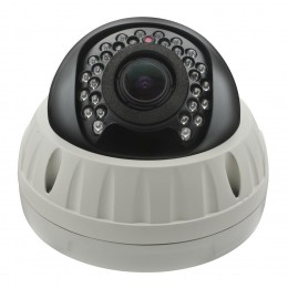 Ertech Sony IMX 2MP 2.8-12MM 1080P POE P2P 25M Vandal Proof Dome IP Network Camera CCTV