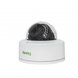 Tiandy TC-NC44M H.265 4MP 2.8-12MM Motorised Autofocus Microphone WDR 120dB VCA POE Audio SD-Card Smart IP Camera