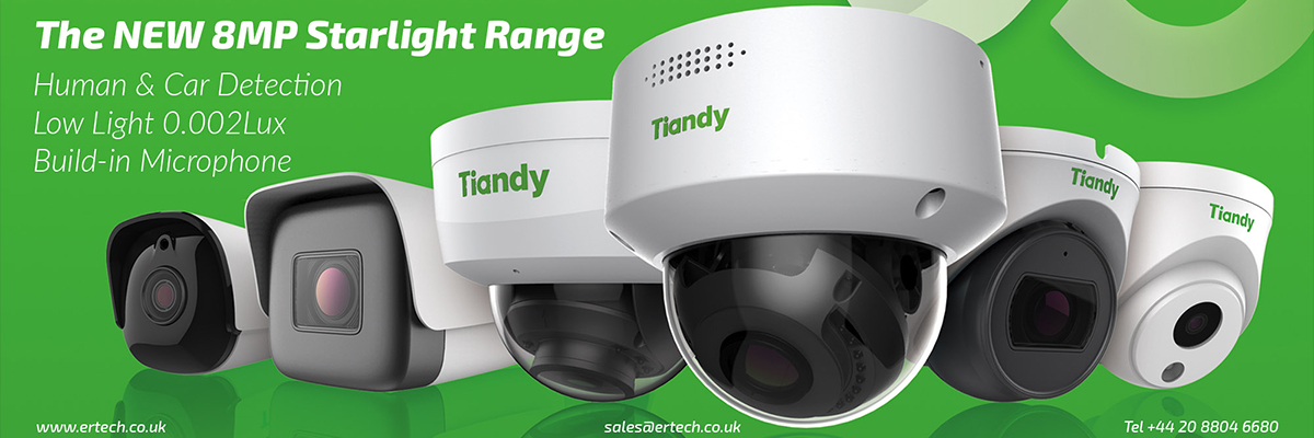 Tiandy 8MP 4K Starlight IP Camera